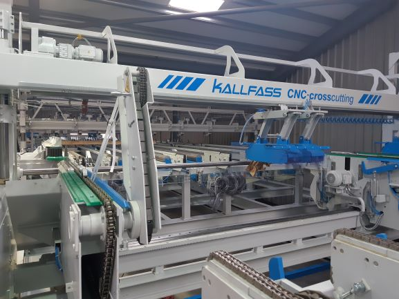 The new Kalfass production line taking shape