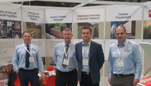 AJS Team at Timber Expo