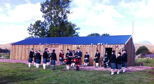 Alwinton Show Hut Opening