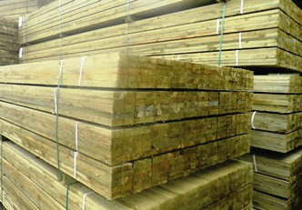 Sawn treated battens