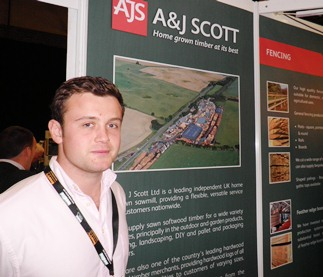 Robert Scott at Timber Expo